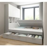 厂家定制北欧榻榻米床高箱储物床双人床小户型现代简约多功能大婚床