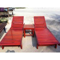 工厂直销大连户外沙滩椅 水上乐园沙滩椅 防腐防晒结实耐用的泳池躺椅