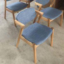 高端白橡实木餐椅 轻奢扶手椅子 实木Z椅子厂 进口白橡实木餐椅系列