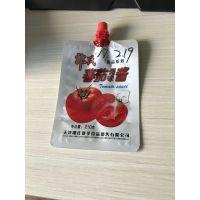 供应葫芦岛甜面酱包装袋/精美吸嘴袋/定做生产