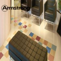 【阿姆斯壮】龙彩石塑片材地板-可修复的地板