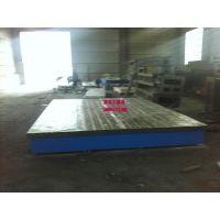 泊头京卓工量具专业生产异型铸铁平台 定做铸铁平台 加厚铸铁平台 大型铸铁平台