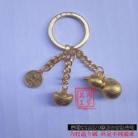 金属钥匙挂件定制 立体葫芦吊坠订做 深圳专供合金钥匙扣挂件厂 现模订制