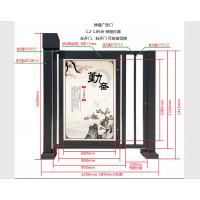 四川广告门自动栅栏门RXC