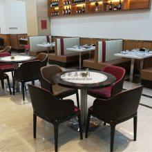 眉山中式餐馆家具定做,美食餐厅桌椅厂家直销