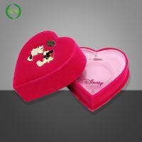 加工定制品质亚克力纪念币盒 心形包装盒勋章钱币收纳 塑料礼品盒