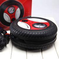 汽车用品 轮胎充气泵 12V迷你打气机 车载充气机 电动打气泵