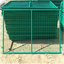 绿色铁丝网围栏-养殖隔离围网-焊接涂塑荷兰网
