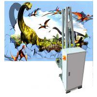 工业级户外墙体喷绘机器装饰壁画电视背景墙3d彩绘机