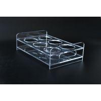 透明亚克力咖啡店饮料杯展示架饮料创意杯架有机玻璃工厂定做批发
