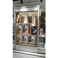 定做靠墙智能锁展示架 电子锁展示柜批发零售
