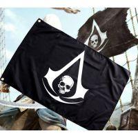 刺客信条4 加盟招商 黑旗康纳旗帜 动漫大旗班旗可订制