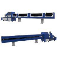 纬扬FL120-S全自动切管机 定制精密无毛刺激光切割机金属圆锯机不锈钢切管机