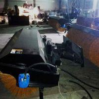 装载机扫雪车公路市政清理积雪清扫器 厦工铲车改装除雪滚刷