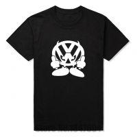 新款T恤男士品牌VW FACE大众汽车印花T恤图案T恤男士T恤短袖棉质