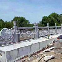 订做大理石护栏 桥梁石栏杆 浮雕石材栏杆