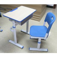 少儿学生桌椅_培训桌椅板凳_学生课桌椅(北魏品牌)培训课桌学校课桌椅-单人课桌椅课桌批发