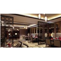 广东定制雕刻装饰板华美中式餐厅时尚隔断装饰通花板