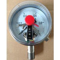 德胜YAXC-100氨用电接点压力表φ100量程0-1.6MPa 怎么选择
