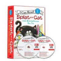 I Can Read第一阶段 啪嗒猫16册+2CD儿童英语启蒙 Splat The Cat