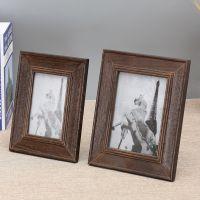 厂家批发欧式复古手工实木相框摆台创意影楼儿童照片框相框现货