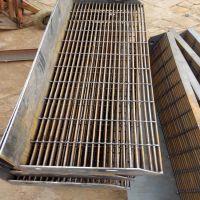 钢格板种类 平台钢格板 排水板安装夹