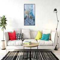 上海厂家直销客厅卧室挂画金色抽象艺术纹理装饰画