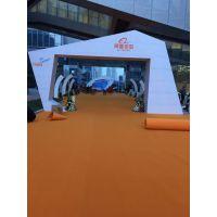 深圳龙岗厂家直销展览地毯阻燃地毯覆膜地毯安装