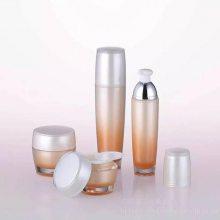 护肤品加工生产玻璃瓶套装润泽补水霜