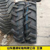 黄海鲁飞9.5-24 11.2-20 11.2-24 11.2-28拖拉机轮胎农用胎人字