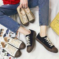 新款情侣帆布鞋青年男女时尚潮流学生运动球鞋校园板鞋厂家批发