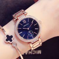 2017新款韩国时尚潮流钢带手表女韩版休闲简约防水蓝光镜面时装表
