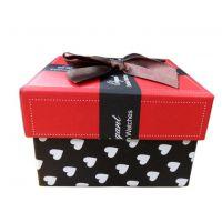 供应批发蝴蝶结包装盒 手表盒 礼物盒 心形手表盒批发手表盒