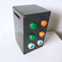 IP65防水防尘防腐操作柱FZC-S-A2D4挂式6孔控制箱