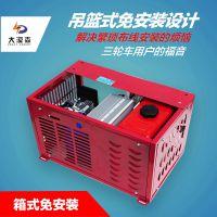 电动车增程器选择大漠森智能增程器发电机48v5000w箱式