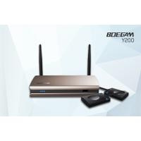 宝疆(BOEGAM) 一键联无线投屏会议系统、无线传屏系统、无线同屏器 Y200 支持双画面