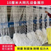 建筑安全网平网厂家 工地白色尼龙防坠网 护栏网弹力丝白色兜网