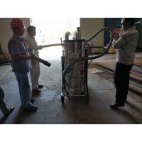 宝山耐火材料车间用吸尘器威德尔7.5KW自动反吹工业吸尘机不会堵塞
