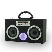 Musiccrown可爱无线蓝牙音箱 便携式SD USB FM手提音箱