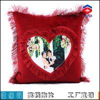 热转印抱枕 热转印抱枕批发 空白手绘抱枕DIY个性抱枕套 不带枕芯