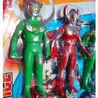 超人 长超人玩具长度约12.3厘米 超人奥特曼机器人玩具 可做赠品