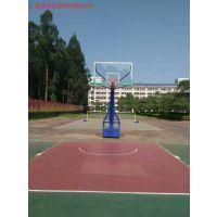 长沙各个篮球场必备的篮球架生产厂家/望城学校青少年篮球架国际标准高度