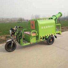 直供志成小型电动三轮洒水车 路边小广告高压清洗车 园林绿化杀虫电动雾炮车