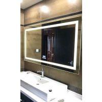 欧式 智能浴室镜子 浴室 镜防爆 洗手间镜子卫浴灯镜 挂墙