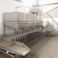 贵州豆制品加工设备 大型泡豆洗豆系统 全自动洗豆泡豆生产线