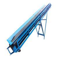 牡丹江专业代办皮带输送机多少钱 厂家直销装袋粮食输送机