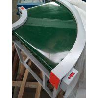 防滑绿色带送料机带防尘罩 电子原件传送机揭阳