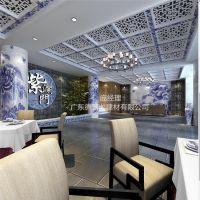热门潮流酒店形象墙3D彩绘图案铝单板_3D印花铝板(如图可见)