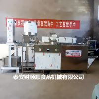 阳泉全自动豆腐皮加工设备 财顺顺食品机械厂家供应