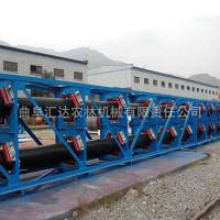 管状皮带机输送各种块状物料 厂家直销